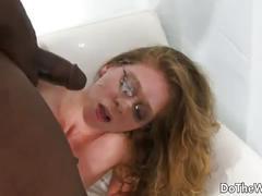 White couple interracial sex