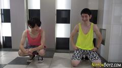 Japanese gay suck spunk