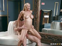 Massive dick slides deep into alexis fawx