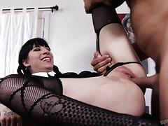 Charlotte sartre fucked in her asshole