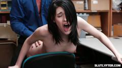 Lp officer ask ivy aura to ride his cock on top