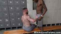 black, interracial, hardcore, bear, masturbation