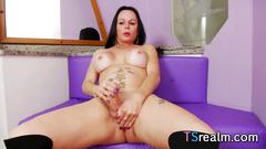 Big assed tgirl paula davila gets herself off