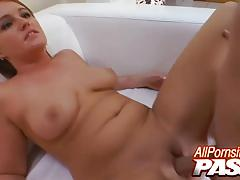 Cock sucking abby taylor fucked like a pro