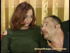 Chubby german picked up for sex casting