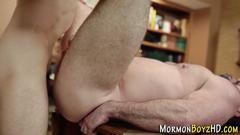 Mormon bear cums stroking