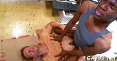 Black dick for white ass feature