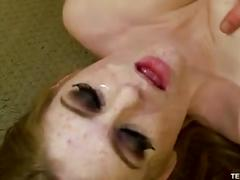 Teenfidelity - faye reagan gets two loads of her stepdad's cum on her face