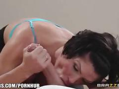 Brazzers - milf shay fox gets some yoga anal