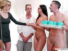 India summers and blake eden hot nudist pussy party