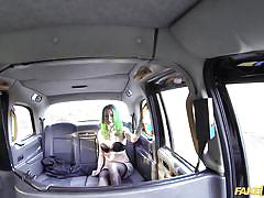 babe, rimjob, taxi, blowjob, punk, tattooed, car sex, ball sucking, green hair, fake taxi, fake hub, john xxxx, madison phoenix