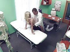 Fake doctor was caught banging the busty patient