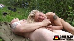 Blowjob in der natur