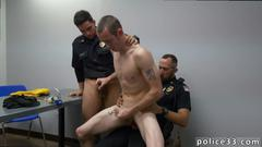 interracial, bareback, twink, group, black on white, cop