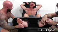 Gay foot fetish porn video connor maguire jerked tickle d