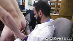 Straight jerking cum caught gay fuck me in the ass for cash