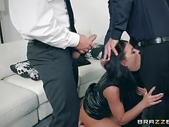 keiran lee, adriana chechik, tony ribas, xander corvus, brunette, blowjob, riding, doggystyle, cumshot, facial, anal, groupsex, double penetration, ass fuck, dp, sucking