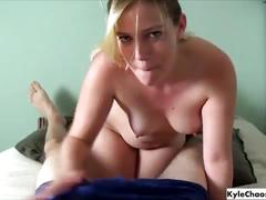 Face fucking blondie - cures blue balls