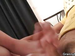 He heals old bitch with his horny cock