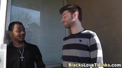 black, blowjob, interracial, anal, jizz
