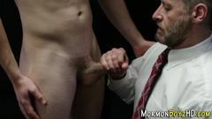 Mormon hunk gets pegged