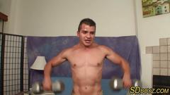 Latin dudes ass bareback