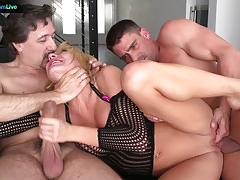Hot nympho amy brooke mean double anal