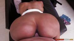 Hot big booty ebony maya