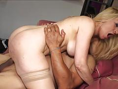 Mature on mature minge banging