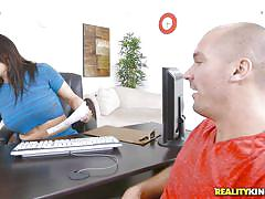 Sean's big dick is a magnet for milfs