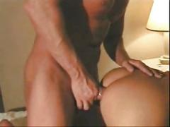 Hot latina shemale sucked and fucked