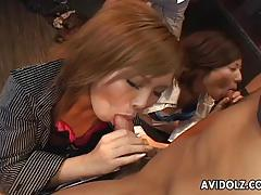Asian babes are getting fucked jard by the boys