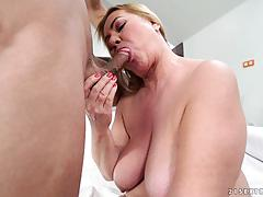 Cock craving mature bbw pam pink