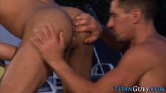 Buff black hunk spunked big cock