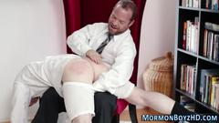 Mormon elders ass spanked handjob