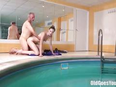 hardcore, e, brunette, cumshot, doggystyle, daddy, young, skinny, small-tits