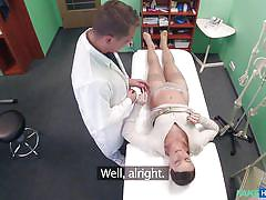 Checking my patient's pussy