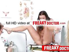 Czech girls visit dirty fetish clinic feat. gioia beil