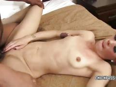 Redhead coed lola is getting fucked with some black dick