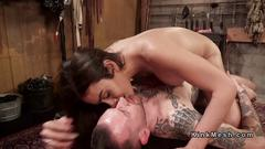 Beautiful tranny mistress gets anal fucked