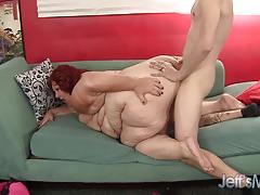Mega fat woman fucked