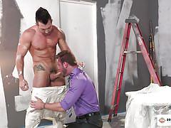 gays, hunks, big dick, rimjob, tattoo, blowjob, muscles, hot house, jimmy durano, ace era
