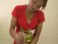 This lucky guys gets a handjob & blowjob from an asian girl xxxcamtv.com
