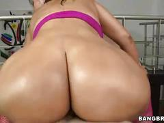 big, round, latina, ass, booty, pov, cowgirl, reverse, colombian, cielo