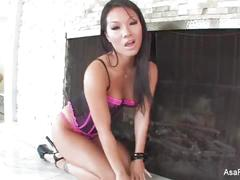 Slow and sexy solo with asa akira