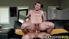 Big dick mike and cute owen michaels ramming action