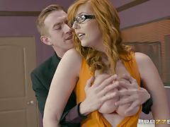 Sexy lauren philips monster cock sucker