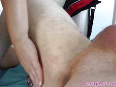 femdom, hd videos, strapon, tattoos, busty dominatrix, dominatrix, dominatrix slave, enjoys, her slave