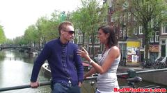 Cocksucking euro hooker banged by tourist