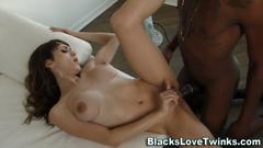 Shemale rides black dick masturbation movie 1